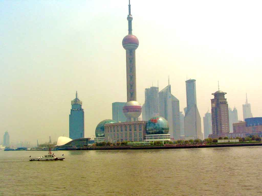 Conference Center Telecommunications Tower in Shanghai