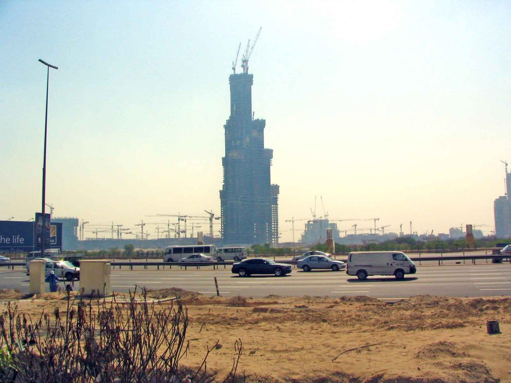 The World's Tallest Building Under Construction