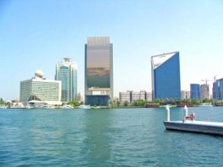 View of Dubai's Creek, Looking Towards Deira