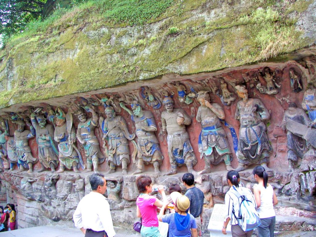 The Buddhist Sculptures of Life At Danzhou