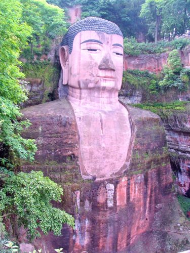 The Great Buddha at Leshan