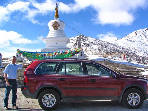 The Second Pass At Stupa - 4,449 Metres Above Sea Level