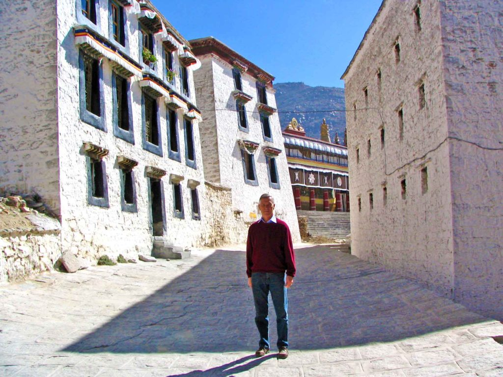 The Drepung Monastry Near Lhasa