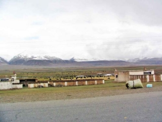 The Road From Lhasa To NaQu On The Tibetan Plateau