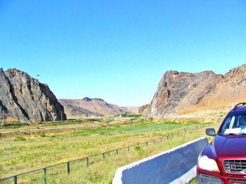 The Tamerlane Pass 60km Before Samarkand