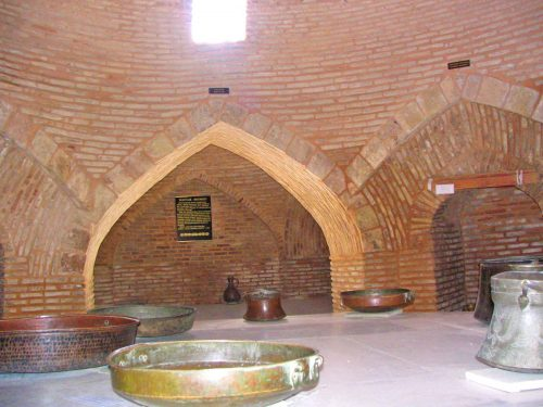 The 15th Century Bath House in Turkistan