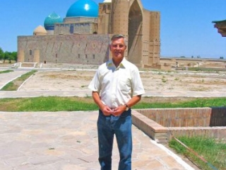 The Kohza Achmed Yasaui Mausoleum In Turkistan