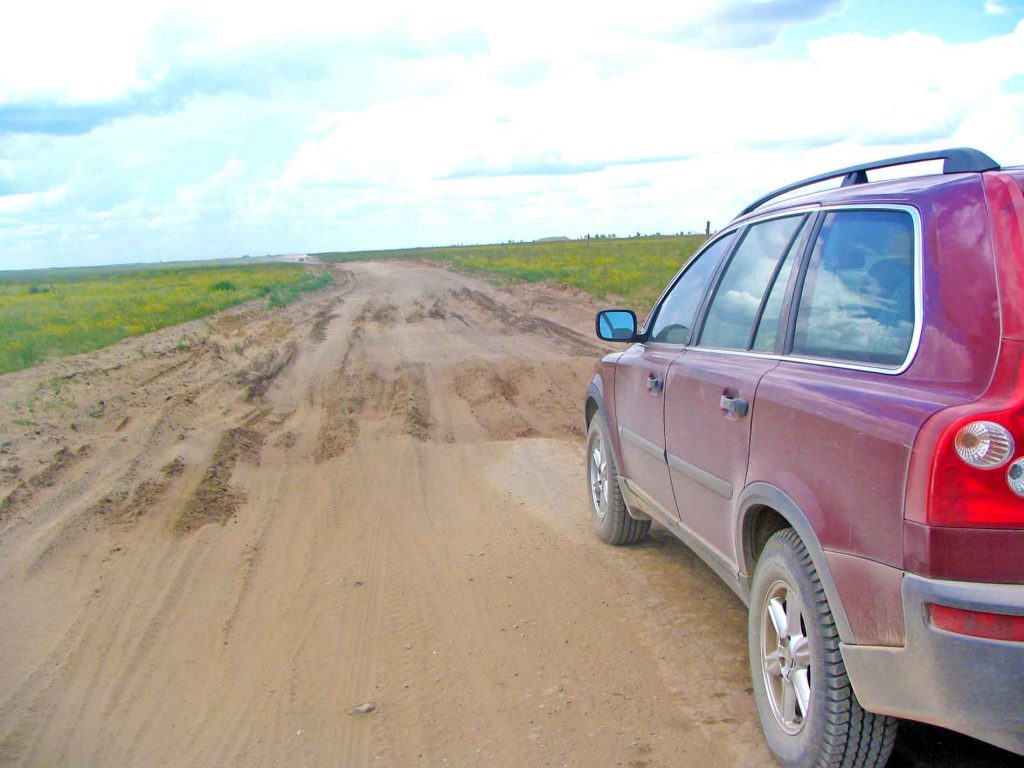The Aktobei To Uralsk Road Is Badly Rutted