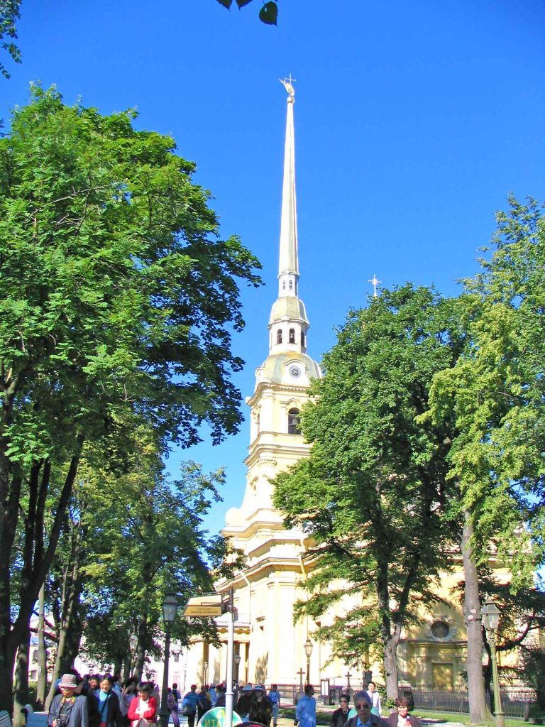 St. Peter and St. Paul Cathedral In St. Petersburg