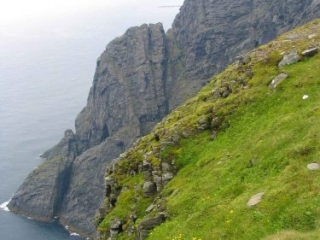 The Cliffs At The North Cape In Norway