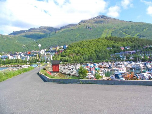 Narvik and Its Ski Slopes In Norway
