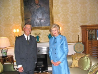 Audience With HRH Princess Alexandra, The Honourable Lady Ogilvy At Buckingham Palace After The Trip